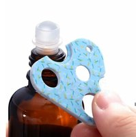 Ouvre-bouteilles de bouteille d'huile essentielle bouteille de bouteille bouteille de bouteille de triangles en plastique ouvre-bouches d'ouverture d'ouverture d'outils d'ouverture d'outils bouchons de bouteilles pour supprimer HWA5604