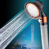 Zhangji Magia Turbocharged Chuveiro cabeça Cuidados com Pele Alta Pressão Alta Pressão ON / OFF Switch Economia de Água Refrigerável Filtro Spray Bocal