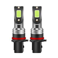 Phare de voiture 2pcs LED Ampoules H8 / H11 880/881 5202 9005 9006 P13W IP68 Kit de conversion vert étanche 30W 3000LM