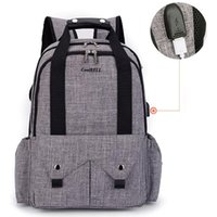 Diaper Bags Design Nappy Changing Bag For Daddy Large Capacity Baby Travel Backpack Multifunction Mummy Nursing