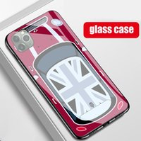 TPU + Temper Glass COOPER cellphone Cases for iphone 13mini 12 11 13 pro max SE2 SAMSUNG galaxy S20 S21 NOTE 9 phone shell BMW cover