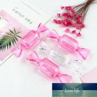 Packing Bottles 8pcs Pack Pink Clear 5ml Cosmetic Pot Jars Candy Shpaed 5g Eyeshadows Makeup Face Cream Lip Balm Containers DIY Nail Art Storage