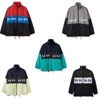 Giacca da uomo Designer ufficiale da uomo Autunno Inverno Streetwear Outdoor Sportswear Sportswear Zipper Giacche da uomo Lettera Stampa Moda Cappotti
