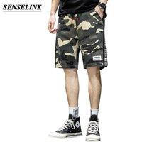 Şort Senselink Erkekler Gevşek Moda Açık Yaz Rahat Beş Noktalı Pantolon Erkekler