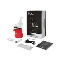 SOC enail Wax E Rig 2800mAh electric portable dab kit dry herb vaporizer 4 Heat Settings Super Quick Delivery