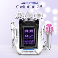 Aristorm 6 in 1 40khz ultrasonic cavitation 2.5 rf slimming beauty device for skin tightening massager machine