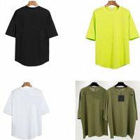 Männer Sommer T-shirt MES T-shirts Angels Winkel PA Fashion Tude Shirts Brief Black Gold White Print Casual Frauen Crew Hals Palm Größe S-XMntu #
