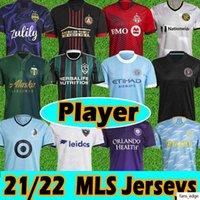 MLS Player Version 21/22 Fussball Jerseys Inter Miami Atlanta DC United Seattle Sounders La Galaxy Philadelphia Union Portland-Timber Orlando
