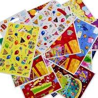 50 قطع هدية أكياس البلاستيك حقيبة الاطفال استحمام الطفل سعيد عيد ميلاد الطفل الحلوى الحلوى الزفاف ديكور اللوازم لوت حمل
