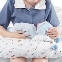 Jewelry Pouches, Bags 2Pcs Set Baby Nursing Pillows Maternity Breastfeeding Pillow Infant U-Shaped Born Cotton Feeding Waist Cushion