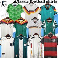 Кубок мира 1988 1990 1998 Ge Retro Littbarski Ballack Soccer Jersey Klinsmann Matthias 2006 2014 Kalkbrenner Jersey 1996 2004 Классические футболки