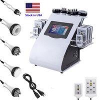 전문 슬리밍 바디 머신 40K 초음파 Cavitation 8 패드 Lipolaser Lllt Lipo 레이저 RF 진공 체중 감량 아름다움 장비