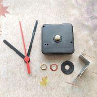 도매 50pcs 12mm 샤프트 스윕 후크 DIY 키트와 함께 조용한 배터리 시계 이동 메커니즘