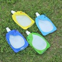 Pieghevole pieghevole pieghevole Bere Bere Acqua Sacchetto dell'acqua Contenitore Portatore da campeggio Outdoor Camping Escursionismo Picnic Borsa liquida HWF7643