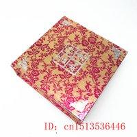 중국어 퍼플 옥 팔찌 상자 매력 보석 패션 액세서리 손으로 조각 된 남자 행운의 부적 선물 포장 상자