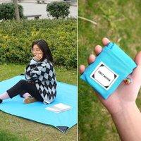 Outdoor Pads Pocket Mat Bed Camping Folding Mattress Baby Climb Ultra-thin Waterproof Beach Picnic Blanket
