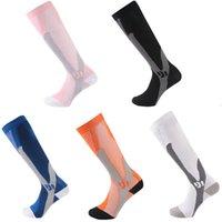 Outdoor Fitness Sport Sock Pad Shin Compression Sleeves Nylon Calf Guards Leg Socks for Cycling Running Besketball Badminton