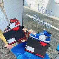 الأحذية الإبداعية عالية أعلى أبل airpods برو بلوتوث اللاسلكية سماعة القضية الواقية 1/2/3 الجيل المطبق