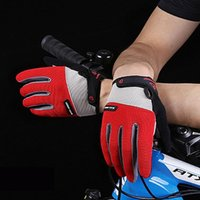 Cycling Gloves Outdoor Men's And Women's Sports Non-slip Glover Fitness Bike Full-finger Touch Screen