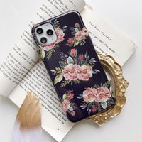 Daisy Flower Matte Soft TPU Cases For iphone 11 11Pro X XS Max 6 6S 7 8 7Plus Art Phone Cover