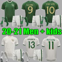 2021 Men + Kids Ireland National Team Soccer Jersey 20 21 Duffy McClean Doherty Hendrick Camicia da calcio Uniformi Adult Sets Kids Kit