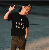GRH Fashion Letter Printing Boy Girl T-shirts Cotton Round Neck Short Sleeved Tees Shirts Summer Toddler Kids Cute Small Tops Soft Children'