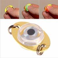 LED 물고기 램프 미니 낚시 미끼 낚시 빛 LED 깊은 드롭 수 중 눈 모양 낚시 오징어 낚시 미끼 유혹 550 z2
