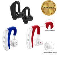 k5 Bluetooth headset Wireless mini Cell Phone Earphones Headphone Handsfree Stereo Business microphone with box