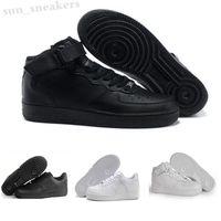 Force one 1 AF1 2022 Brand AF1 1 07 Utility Mid Casual shoes High Low Red Black White Womens Mens Designer 2021 Trainer RG01