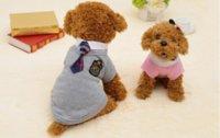 개 의류 캠퍼스 애완 동물 의류 패션 영국 의류 테디 학교 유니폼