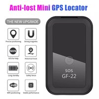 2021 New GF22 Car GPS Tracker Anti-Lost Alarm Strong Magnetic Small Location Tracking Device Locator for Motorcycle Truck Recording