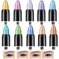 Eye Shadow Women Highlighter Eyeshadow Pencil Cosmetic Glitter Long-lasting Eyeliner Pen Liner Professional Make Up Pearl
