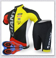 Riesiges Team Radfahren Kurzarm Jersey (Lätzchen) Shorts Sets Reiten Fahrrad Sommer Atmungsaktive Tragen Kleidung ROPA CICLISMO 9D GEL PAD Y21041003