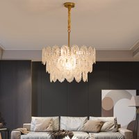 Luxury Led Chandeliers Lighting Living room Ceiling Chandelier Lamps Hanging Lamp For Dining Kitchen Crystal Light Bedroom deco