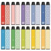 Original VAPEN CUBE 1600 PUFFs Disposable Vape Pen E Cigarettes Kits 650mAh Battery 5.5ml Capacity Portable Vaporizer Pre-Filled Bars Vapors