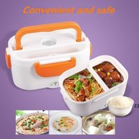 110V 220V Portable Electric Heating Lunch Box For Kids Adult Food Heater Rice Lunch Container Travel Picnic Bento Lunch Box HWA8561