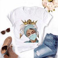 ممرضة الملكة فتاة الصيف النساء قمم 90s Ullzang المتناثرة تور بطل اقتصاص قميص، هبوط السفينة