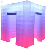 free ship to door inflatable photo studio air bouncy photos booths for party event rental