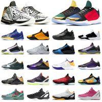 أحذية كرة السلة الرجالية Mamba Zoom 6 Protro All-Star Mambacita Del Sol Alternate Bruce Lee 5 خواتم أحذية رياضية خارجية للرجال
