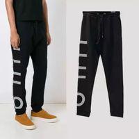 Invierno para hombre diseñador pista pantalón estilo casual hombres mujeres joggers pantalones con letras moda pilotaje pantalones carga pantalón pantalón cordón m-2xl