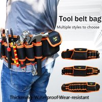 Waist Oxford Tool Cloth Bag Electrician Work Tools Belt Site Construction Canvas Bags Hfpqi