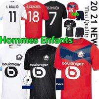 Losc Lille Soccer Jerseys 2020 2021 YaziCi Çelik Bamba Botman 20 21 Lille Olympique Jikone Rsanches Maillot de Camicia da calcio