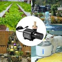 Pompes à air Accessoires Pompe de circulation d'eau Pompe à faible bruit 5m DC 12V pour le réservoir de poisson DecDEal ultra-silencieux Aquarium sans brosse circulant