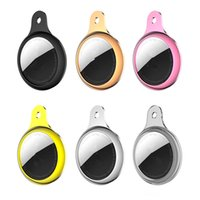 Hülle für Airtags Airtags Air-Tags Klarüberzug Bluetooth Wireless Tracker Carry Cover Anti-Lost Protector Shell mit Haken