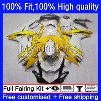 OEM Body For SUZUKI GSXR750 GSXR 600 750 CC 600CC 2011 2012 2013 2014 2015 2016 2017 23No.97 GSXR-600 Golden white 750CC GSXR600 K11 11 12 13 14 15 16 17 Injection Fairing