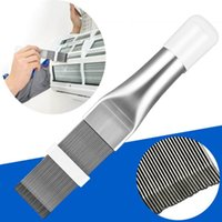 Other Household Sundries Cleaning Tool Air Conditioner Fin Repair Coil Comb A c Hvac Condenser Radiator Universal Folding Brush
