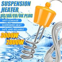 2021 Hot Sale2000W / 3000W Elettricità Immersion Acqua Riscaldatore Elemento Caldaia Portatile Riscaldamento dell'acqua Riscaldamento per il nuoto gonfiabile P