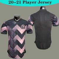 لاعب نسخة MLS 2020 انتر ميامي الطبعة الخاصة الوردي بيكهام لكرة القدم جيرسي 20 21 الرجال قميص كرة القدم مخصصة المنزل قميص كرة القدم