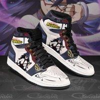 DIY Anime Fan Sneakers Midnight Mens Womens Basketball Shoes Jumpman 1 Model Custom Trainers Casual shoe