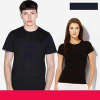 Mens de verão camiseta Designer de roupas elegante tshirt de algodão de mangas curtas com bordado de letra de marca - A02